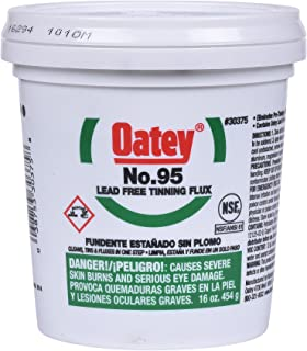 Oatey 30375 No. 95 Tinning Flux, Lead Free 16-Ounce