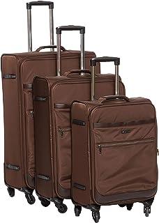 Magellan Trolly Luggage Set 3 PCs  7528-3P-BROWN