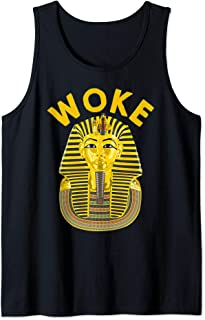 King Tut Ancient Egypt Death Mask Egyptian Pharaoh Tank Top
