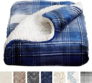 3c236d2f89 Home Fashion Designs Premium Reversible Sherpa and Sculpted Velvet Plush  Luxury Blanket. Fuzzy
