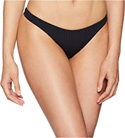 Vitamin A Swimwear California High-Leg Ribbed Bottom