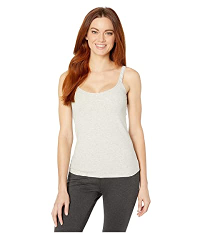 OnGossamer Cabana Cotton Reversible Camisole (Heather Grey) Women