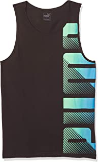 PUMA Men's Summer Logo Tank Top