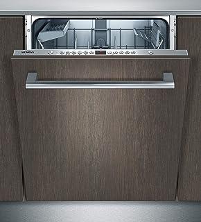 Siemens SN66P032EU lavavajilla - Lavavajillas (Totalmente integrado, Madera, Botones, A, 70 °C, A)