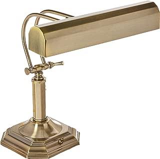 Lite Source Piano Mate Antique Brass Desk Lamp