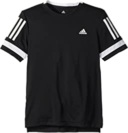 adidas Kids - Club 3-Stripes Tee (Little Kids/Big Kids)