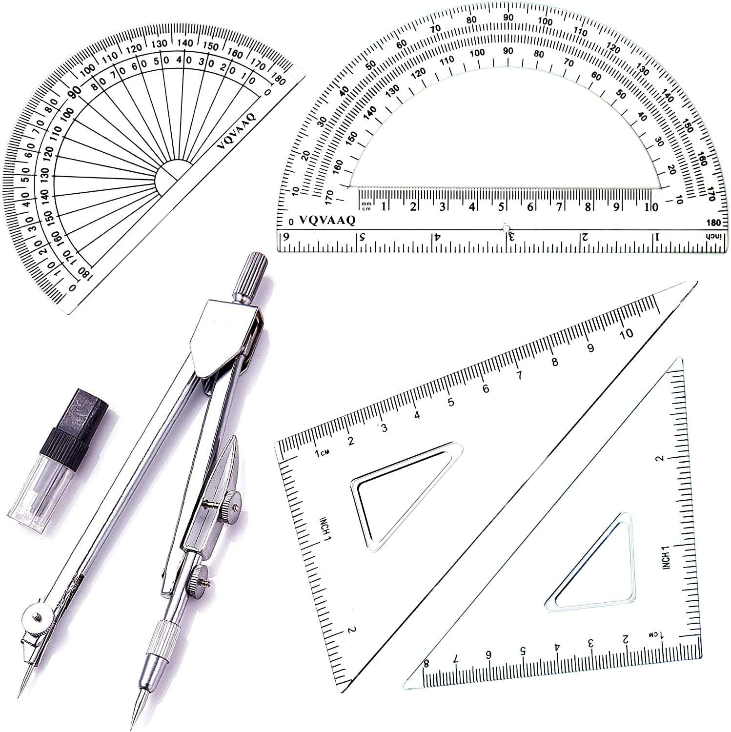 Geometry School Set with Compass Quality Protra Max 51% OFF Drawing Reservation