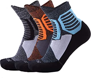 NBA Men's Basketball Socks Cushioned Dri-Fit Athletic Crew Socks 3Pairs
