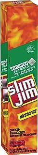 Slim Jim Giant Smoked Snack Sticks, Tabasco, Keto Friendly, .97 Oz. 24-Count