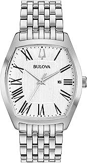 بولوفا ساعة رسمية كواترز ستانلس ستيل للنساء- موديل 96M145)
