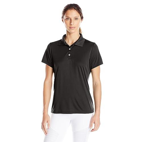ab65f5783f4 100 Polyester Shirt Black Polo Shirts: Amazon.com