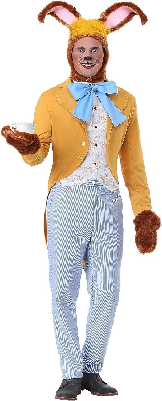 Men's March Hare Fancy Dress Costume Medium
