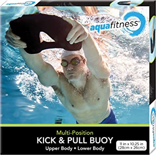 Aqua Fitness, Pool Exercise, Kick and Pull Buoy, Swimming Kickboard, One Size Fits All,..