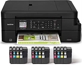 Brother Inkjet Printer, MFC-J775DW XL, Up to 2-years of Printing Included