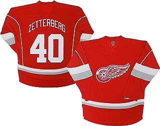 OuterStuff NHL Boys Henrik Zetterberg Replica Jersey-Away