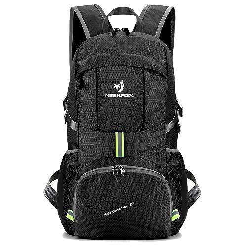 NEEKFOX Lightweight Packable Travel Hiking Backpack Daypack 91799af06b255