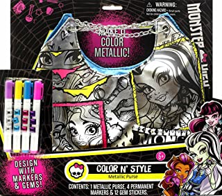 monster high color and style purse