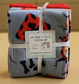 Paw Patrol Break Through No-Sew Throw Fleece Fabric Kit (50x60)