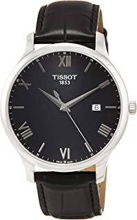 Tissot T063.610.16.058.00 For Men Analog Leather Band Watch