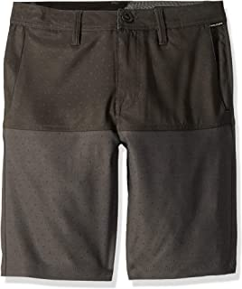 "Volcom boys Frickin Snt Block 18"" Hybrid 4 Way Stretch Short Casual Shorts"