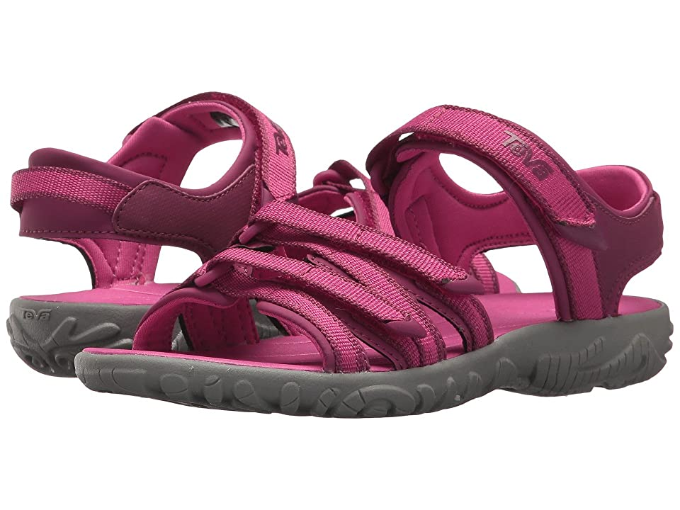 Teva Kids Tirra (Little Kid/Big Kid) (Raspberry Rose) Girls Shoes