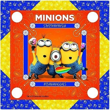 Zitto Minions Kids Carrom Board (20x20 Inch, Multi Color)