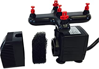 Viagrow Aeroponic Clone Machine Replacement Pump, Manifold and Misters