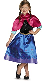 Disguise Anna Classic Costume X-Small (3T-4T) 85258M