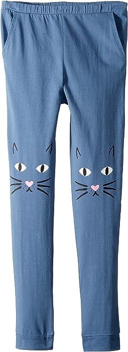 Chaser Kids Jersey Meow Knees Sweatpants (Big Kids)