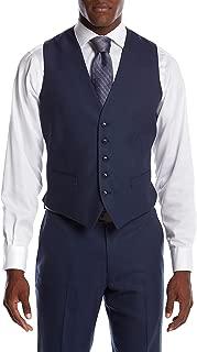 Men's Blue Suit Separate Vest