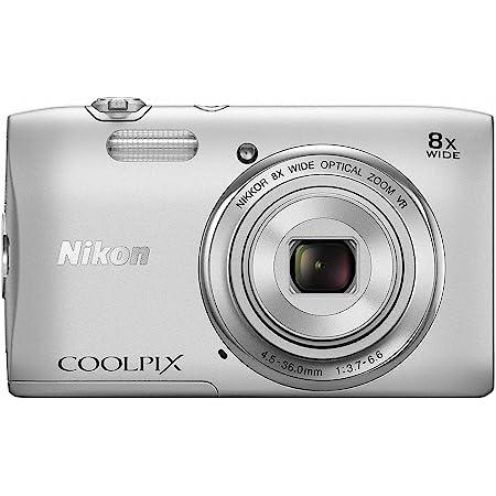 Nikon デジタルカメラ COOLPIX S3600 8倍ズーム 2005万画素 クリスタルシルバー S3600SL