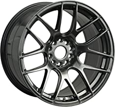 XXR 530 18 Hyperblack Wheel / Rim 5x100 & 5x4.5 with a 33mm Offset and a 73.1 Hub Bore. Partnumber 53088102N