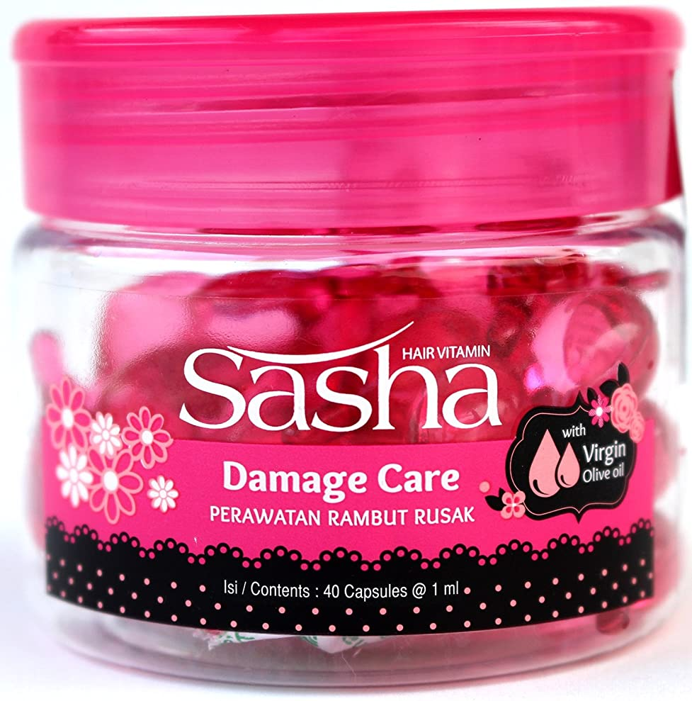プロテスタント輝く助けてSasha(サシャ)ヘアビタミン(40粒入) [並行輸入品][海外直送品]