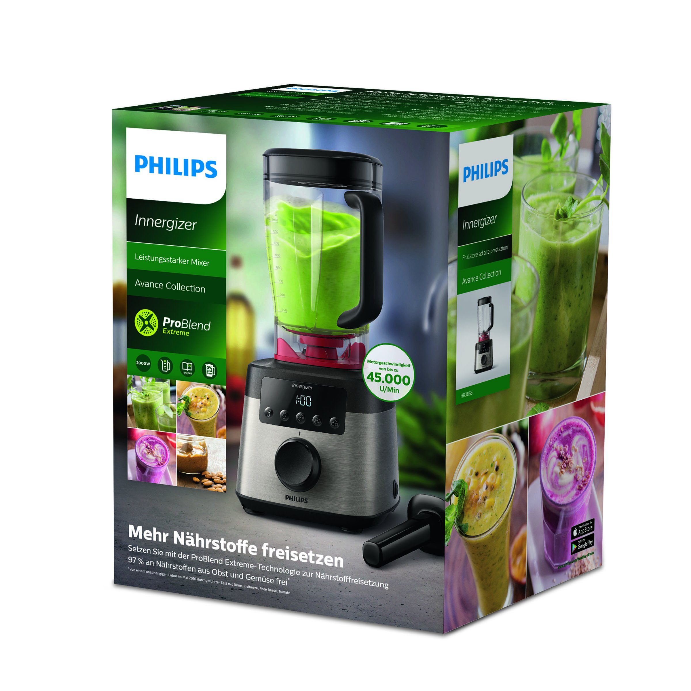 Philips Avance Collection Batidora Innergizer de alta velocidad ...