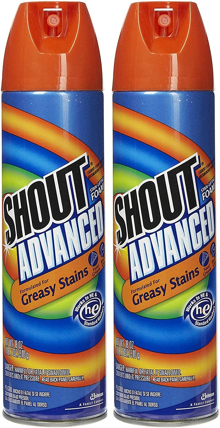 Shout Advanced Stain Lifting oz-2 National products 18 Spring new work one after another Foam pack