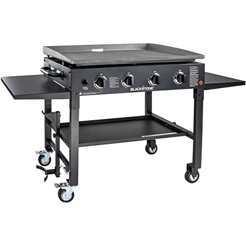 Blackstone 1554 Station-4-burner-Propane Fueled-Restaurant Grade-Professional 36