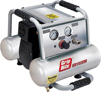 Grip-Rite GR152CM 1.5HP 2 Gallon Twin Tank Compressor: image