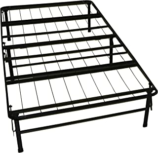 DuraBed Steel Foundation & Frame-in-One Mattress Support System Foldable Bed Frame, Twin-size