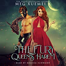 The Fury Queen's Harem: A Reverse Harem Dragon Fantasy: The Cursed Dragon Queen and Her Mates, Book 1