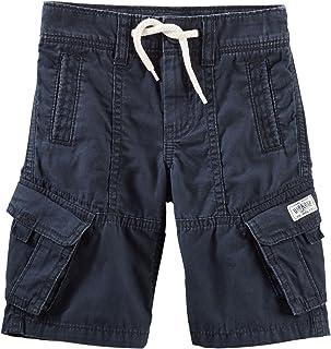 OshKosh男の子のモダンCargo Shorts ; Navy ( 2幼児用)
