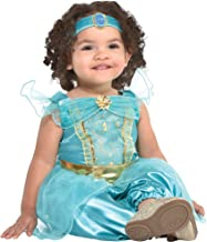 Party City Jasmine Halloween Costume for Babies, Aladdin Animated Includes Accessories