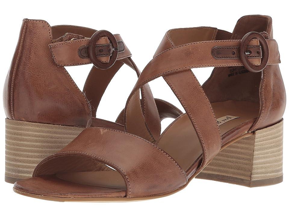 Paul Green Sally Heel (Cuoio Saddle Leather) High Heels