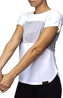 Sundried Womens Yoga Gym Fitness Top Trabajo Formación Fuera de la Camiseta