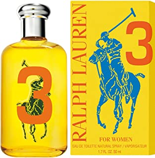 Ralph Lauren Eau de Toilette Spray for Women, The Big Pony Collection # 3, 1.7 Ounce