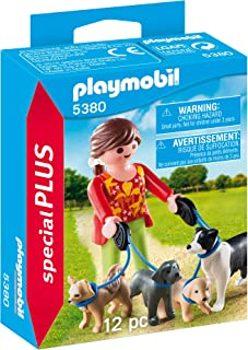 Playmobil Special Plus Dog Walker Figure, Multi-Colour, 5380