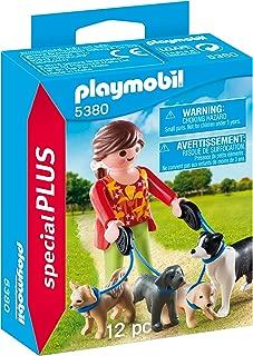 Playmobil Special Plus Dog Walker Figure, Multi-Colour, 5380