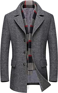 Best scarf with coat men Reviews