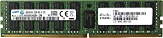 Adamanta 16GB (1x16GB) Server Memory Upgrade Compatible for Cisco UCS Servers P/N: UCS-MR-1X162RU-A DDR4 2133MHz PC4-17000 ECC Registered Chip 2Rx4 CL15 1.2V DRAM RAM