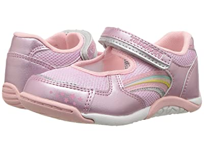 Tsukihoshi Kids Twinkle (Toddler/Little Kid) (Rose/Pink) Girls Shoes