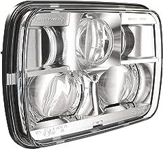 JW SPEAKER 0554471 12-24V DOT/ECE LED RHT High & Low Beam Headlight with Chrome Inner Bezel